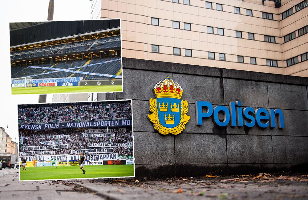 Så ska villkorstrappan ersättas – Fotboll Sthlm intervjuar polisen
