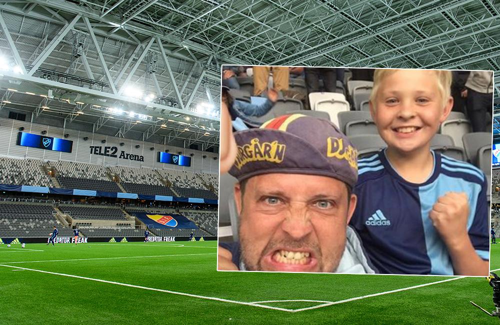 """Far och son ska se DIF på plats: """"Överlycklig – en chock faktiskt"""""""