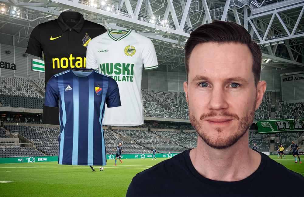 Oskar Månsson: Stötta Fotboll Sthlm och vinn matchtröja