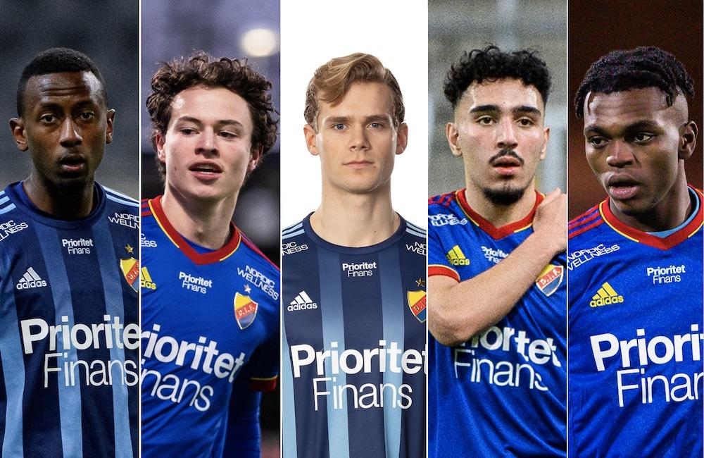 Talangerna i Djurgården – Fotboll Sthlm rankar klubbens största löften