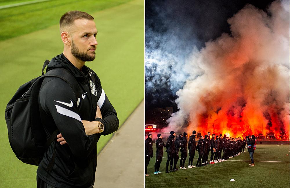 Efter dagens publikbesked – Milosevic med hälsning till AIK-supportrarna