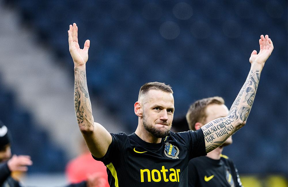 """Alexander Milosevic: """"Fler Football Manager-matcher än matcher i Allsvenskan"""""""
