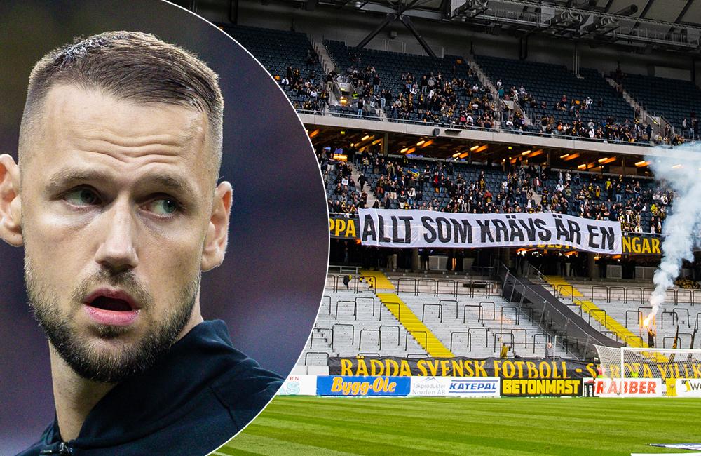 """Milosevic på supportrarnas sida efter nya protesten: """"Ett hån mot fotbollen"""""""