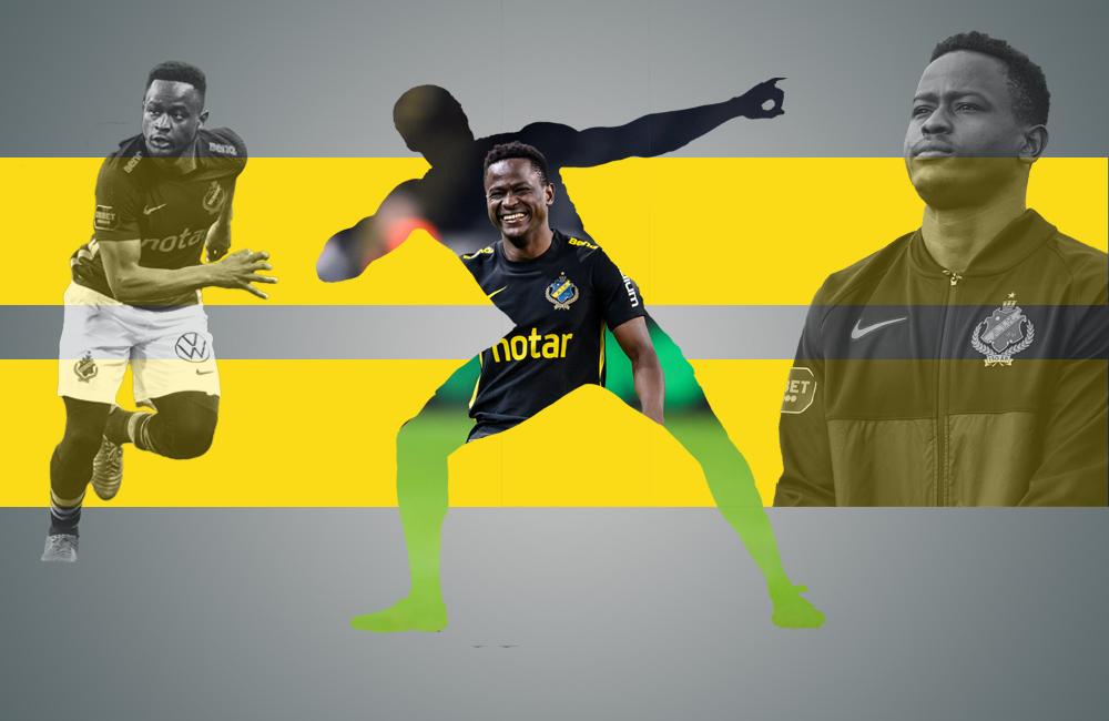 """""""Jag tackar Gud som hjälpt mig hit"""" – Fotboll Sthlm möter Erick Otieno"""