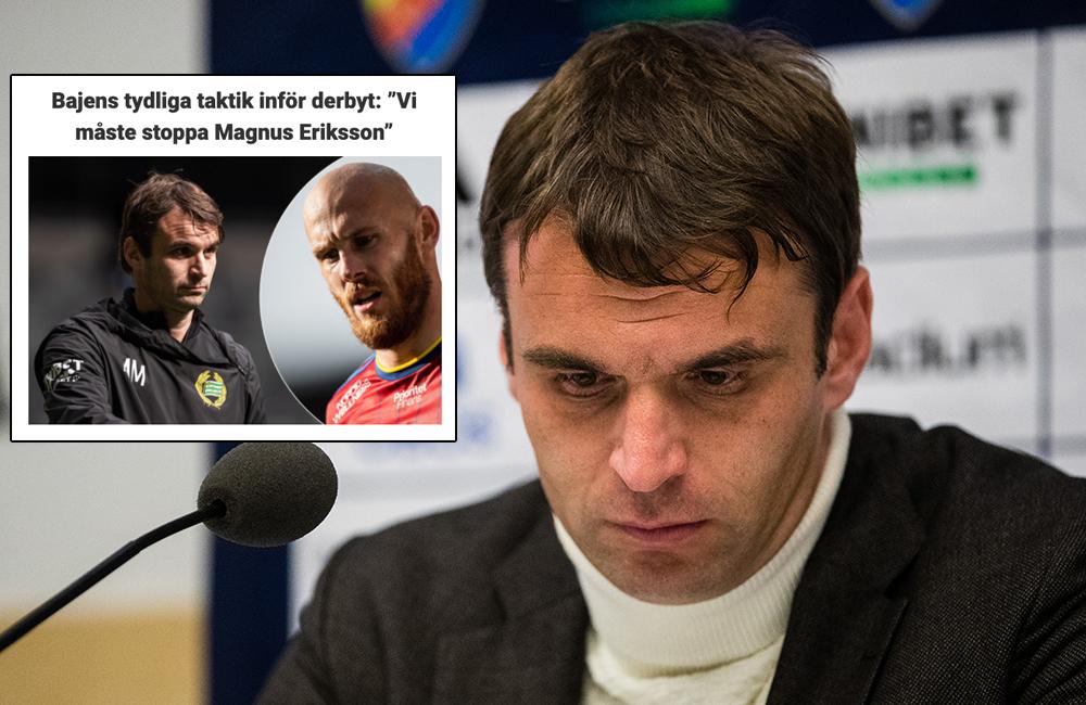 Hammarby ville få stopp på Eriksson – skyller på språkförbistring