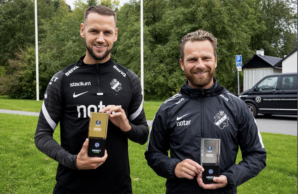 Dubbelslam för AIK – både Milosevic och Grzelak prisas av SEF