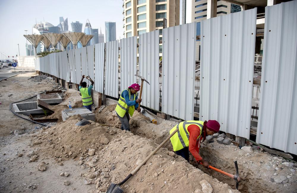 Oskar Månsson: Jag har sett Qatars baksida med egna ögon
