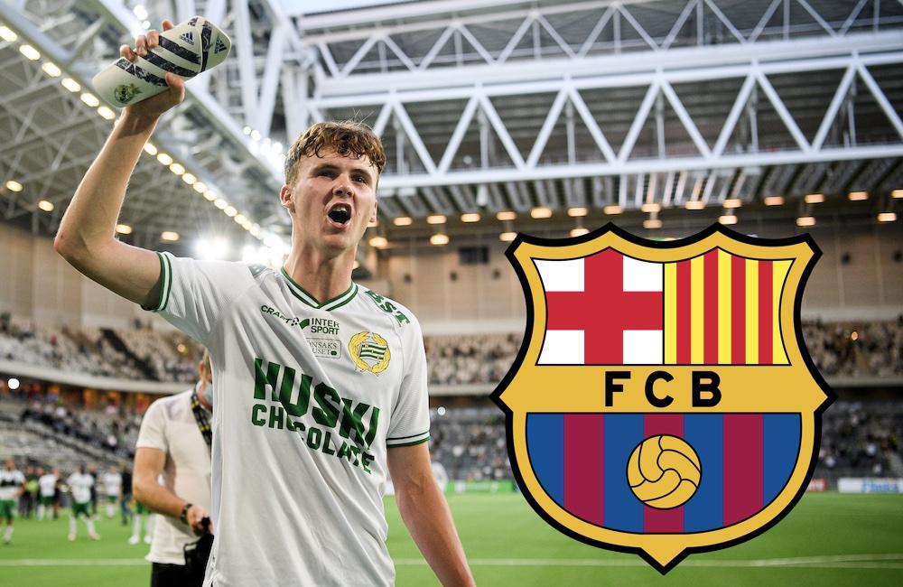 Avslöjar: Barcelona visar intresse för Williot Swedberg